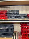 Keep your socket wrenches organized with these Socket Organizers