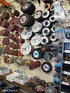 Salem Tools stocks cut-off wheels and disk sanders supplies
