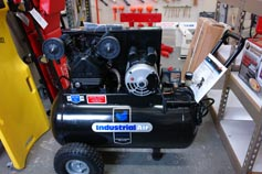 Industrial Air Air Compressor- A size to fit any job